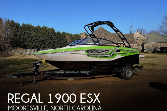 2017 Regal 1900 ESX - For Sale at Mooresville, NC 28117 - ID 203395