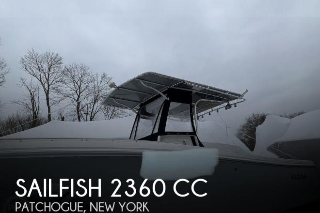 2011 Sailfish 2360 CC - For Sale at Patchogue, NY 11772 - ID 203906