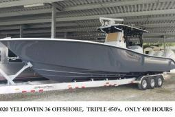 2020 Yellowfin 36 Offshore