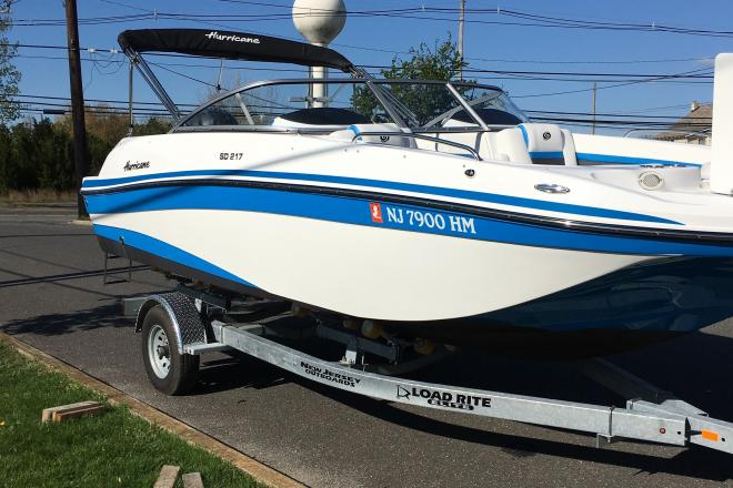 2019 Hurricane SD 217 - For Sale at Forked River, NJ 8731 - ID 204051