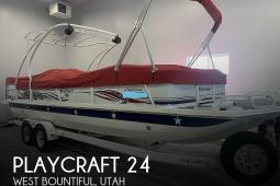 2007 Playcraft Deck Cruiser 24