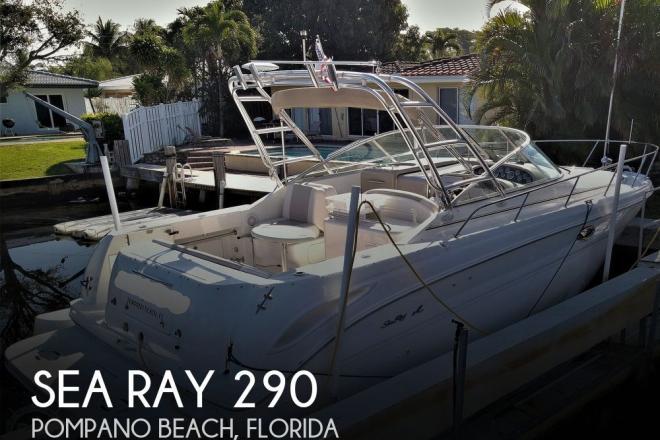 2000 Sea Ray 290 Amberjack - For Sale at Pompano Beach, FL 33060 - ID 203674
