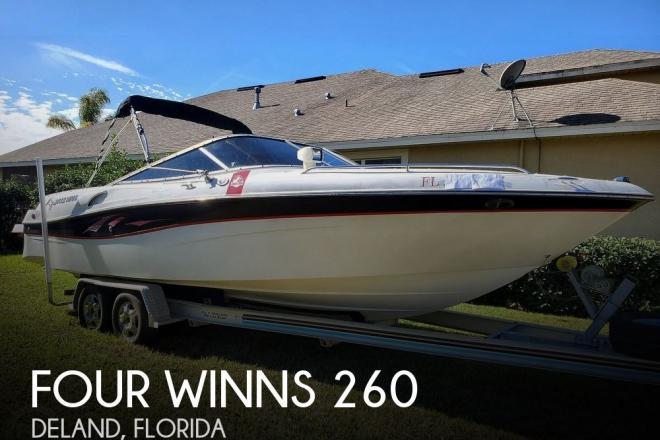 2001 Four Winns 260 Horizon - For Sale at Deland, FL 32720 - ID 203434