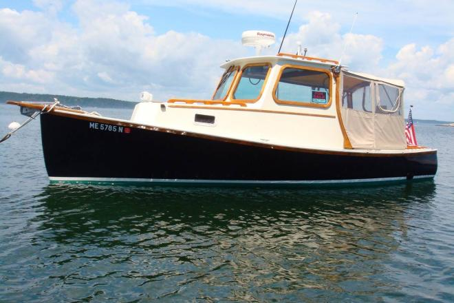 1968 Lowell Lobster Boat