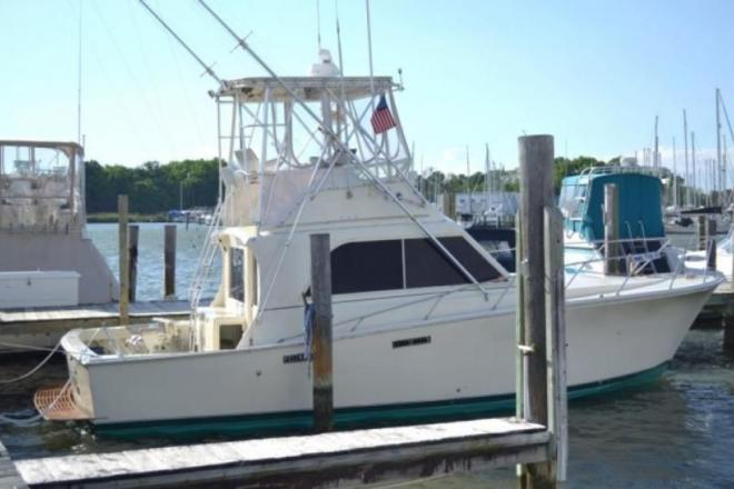 1979 Pacemaker 36 Sportfish - For Sale at Edgewater, MD 21037 - ID 150410