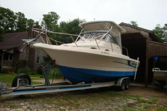 1998 Pro Line 2610 Sport Fisherman Walk Around - For Sale at Buxton, NC 27920 - ID 150551