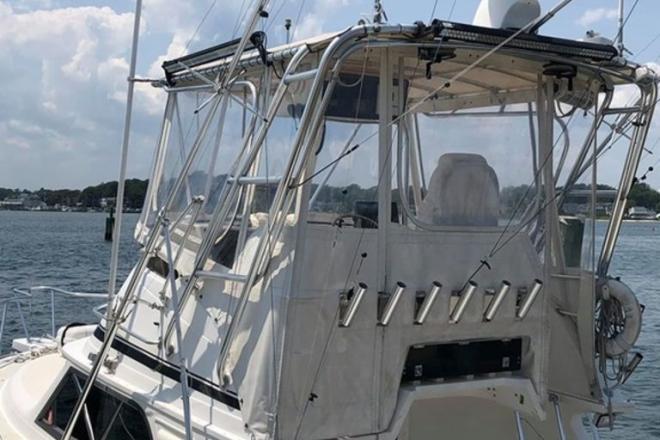 1991 Blackfin 33 Flybridge - For Sale at Belmar, NJ 7719 - ID 173206