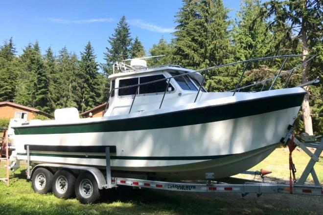 2001 Osprey 26 Canyon Runner Pilothouse - For Sale at Anacortes, WA 98221 - ID 185557
