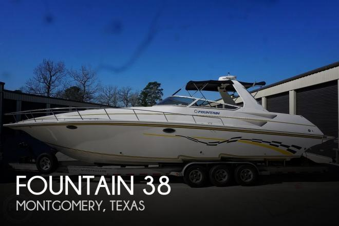 2005 Fountain 38 - For Sale at Montgomery, TX 77316 - ID 203683