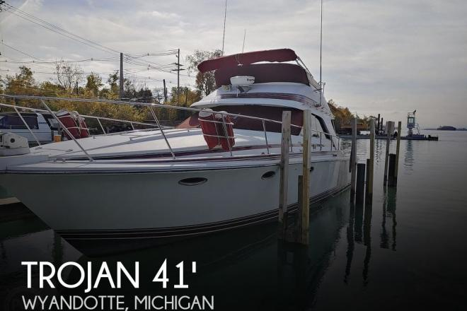 1986 Trojan 11 meter international convertible - For Sale at Wyandotte, MI 48192 - ID 175511