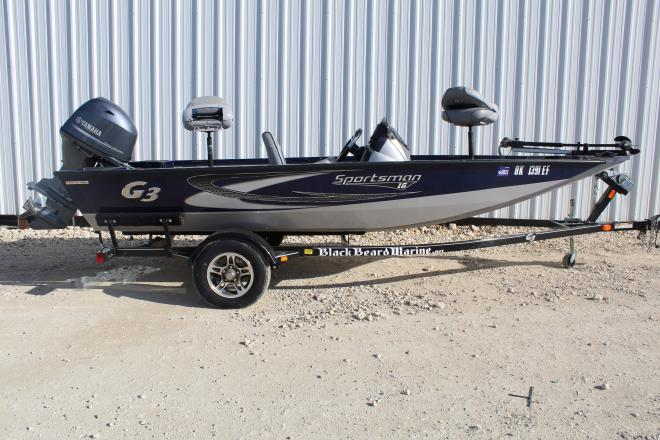 2018 G3 Boats Sportsman 16 - For Sale at Kingston, OK 73439 - ID 203359