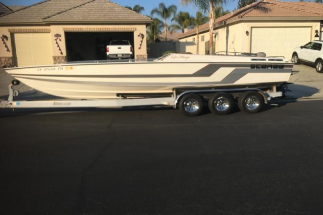 1986 Scarab Larry Smith Offshore - For Sale at Bakersfield, CA 93301 - ID 204799