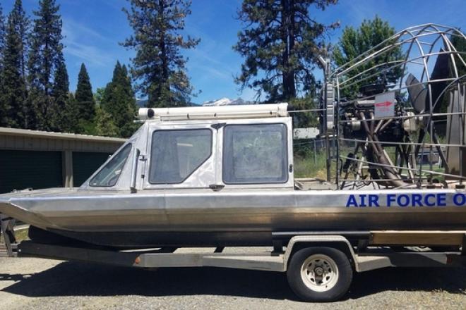 2004 Custom Built Home Rescue Master Air Boat