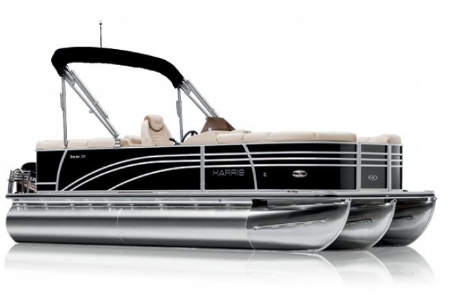 2021 Harris SUNLINER 230 - SL - PERFORMANCE TRIPLE TUBE - For Sale at Irmo, SC 29063 - ID 205292