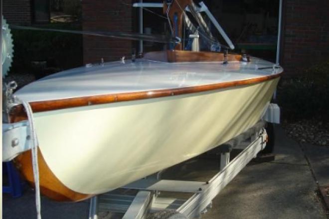 1960 Custom Built Racing Sailboat Hampton One Design