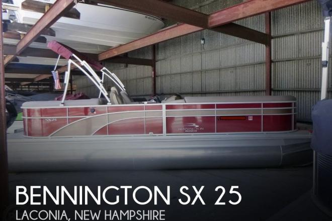 2018 Bennington SX 25 - For Sale at Laconia, NH 3246 - ID 204646