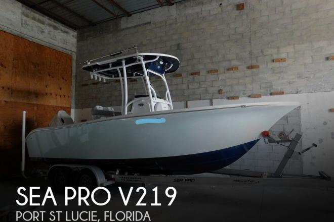 2018 Sea Pro V219 - For Sale at Port Saint Lucie, FL 34952 - ID 196376