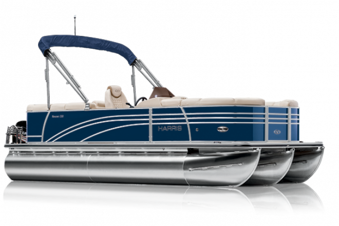 2021 Harris SUNLINER 230 - CWDH - PERFORMANCE TRIPLE TUBE - For Sale at Salem, SC 29676 - ID 206604