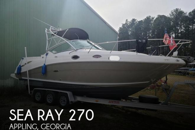 2006 Sea Ray Amberjack 270 - For Sale at Appling, GA 30802 - ID 204879