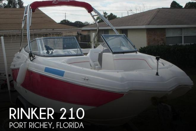 2009 Rinker 210 MTX Captiva - For Sale at Port Richey, FL 34668 - ID 204587