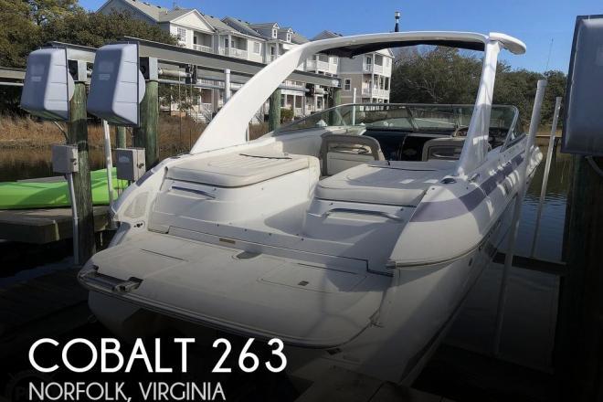 2001 Cobalt 263 cuddy cabin - For Sale at Norfolk, VA 23518 - ID 204810