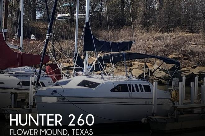 1999 Hunter 260 - For Sale at Justin, TX 76247 - ID 204806