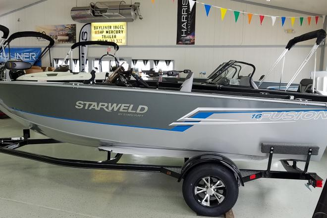 2021 Starweld Fusion 16 SC - For Sale at Brighton, MI 48114 - ID 204382