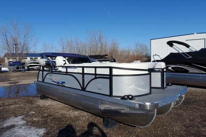 2021 JC Tritoon Spirit 201TT Sport - For Sale at Coopersville, MI 49404 - ID 201260