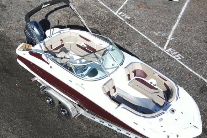2021 Hurricane SunDeck 2200 OB - For Sale at Bluffton, SC 29910 - ID 201406