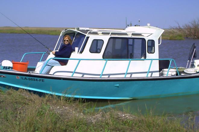 2007 Custom Built Aluminum Fishing Boat