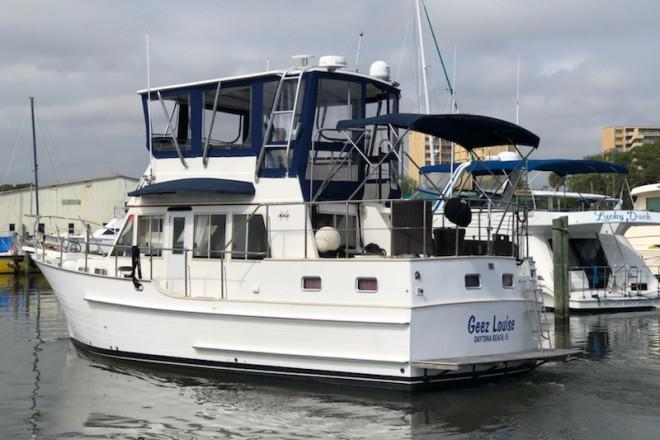 2001 Island Gypsy 36 Sundeck Trawler