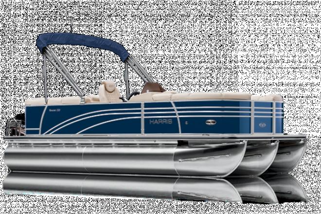 2021 Harris SUNLINER 250 - CWDH - PERFORMANCE TRIPLE TUBE