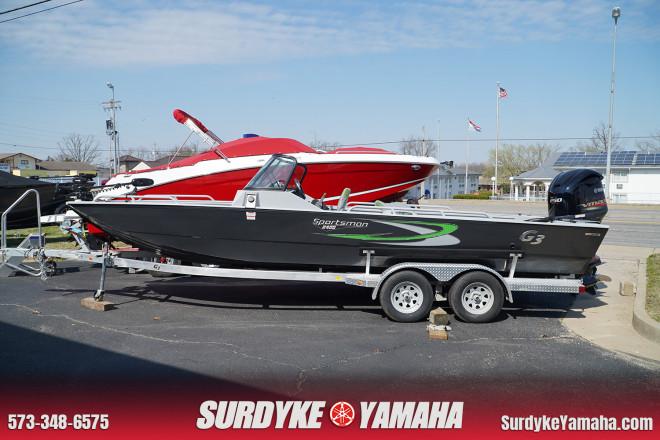 2021 G3 Boats Sportsman 240TFC