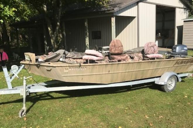2013 Beavertail Jon Boat