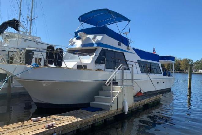 1981 Bluewater 45 Coastal Cruiser