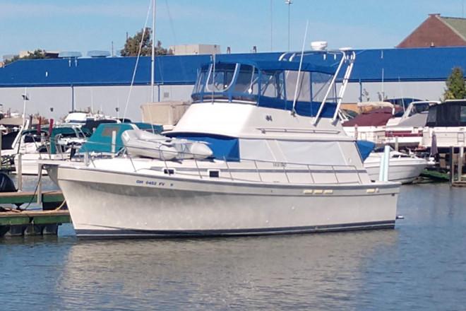 1987 Mainship 36 Nantuckett
