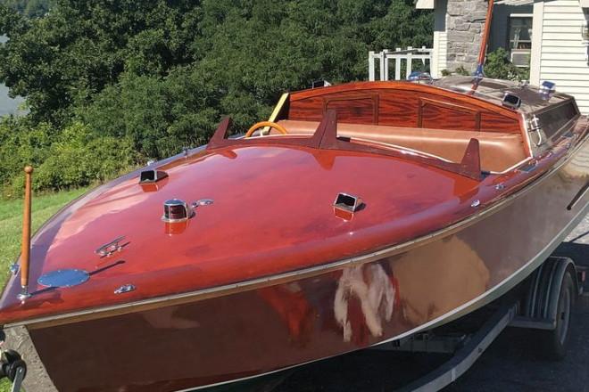 2001 Custom Built 21 Runabout Speedboat