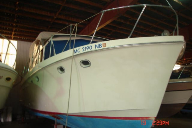 1963 Hatteras 34 AFT CABIN - For Sale at Bay City, MI 48708 - ID 163503