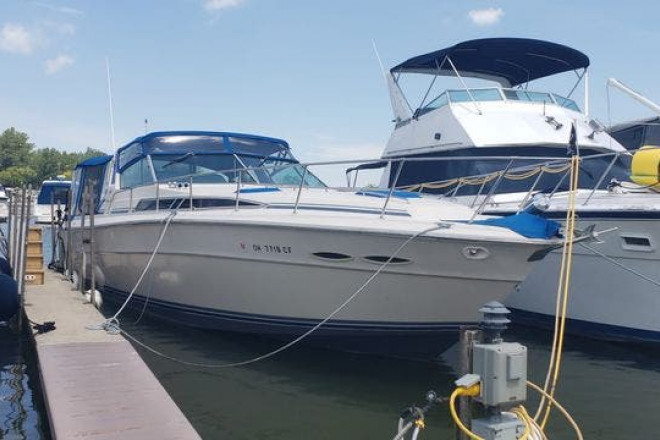 1987 Sea Ray 390EXPRESS - For Sale at Lakeside Marblehead, OH 43440 - ID 195002