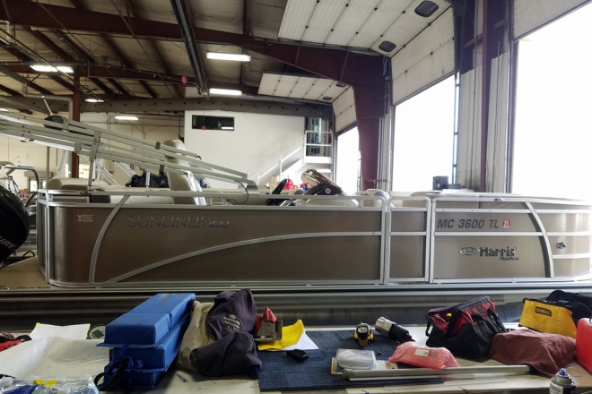 2012 Harris Sunliner 200 - For Sale at Brighton, MI 48114 - ID 212873