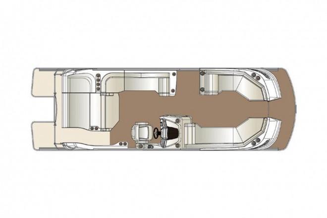 2021 Harris FloteBote Crowne SL 250