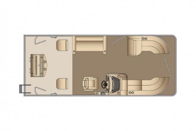 2021 Harris FloteBote Cruiser 230