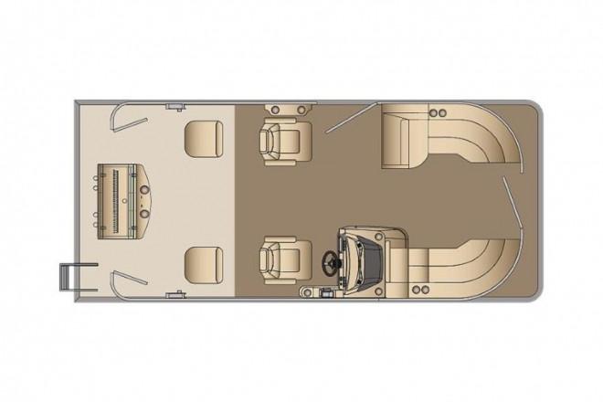 2021 Harris FloteBote Cruiser 210