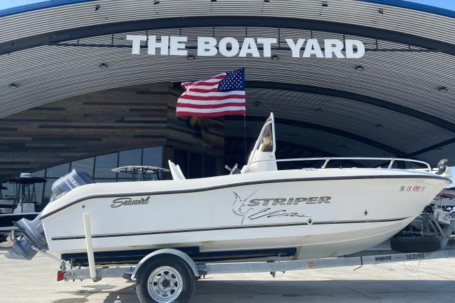 2004 Seaswirl 186 Striper