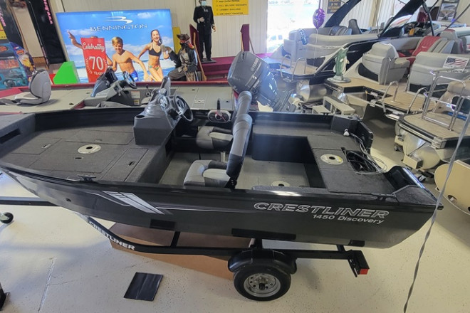 2021 Crestliner 1450 Discovery Side Console