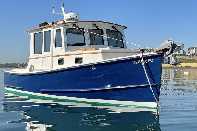 2012 Custom Built North Shore Downeast 25