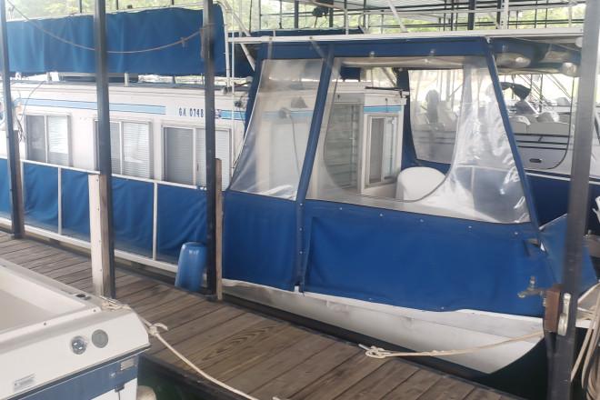 1965 Drifter 32 Steel Houseboat