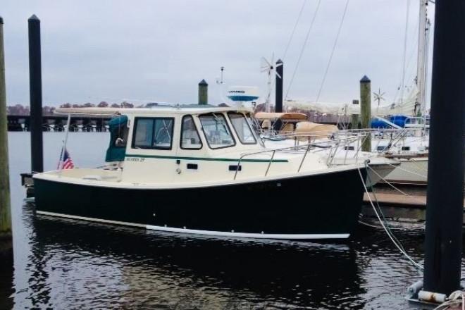 2004 Atlas Boat Works Acadia 27 Down East