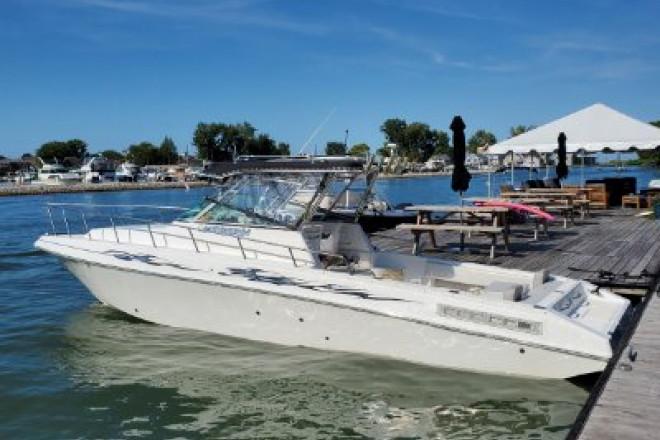 2003 Fountain 32 Sportfish Cruiser