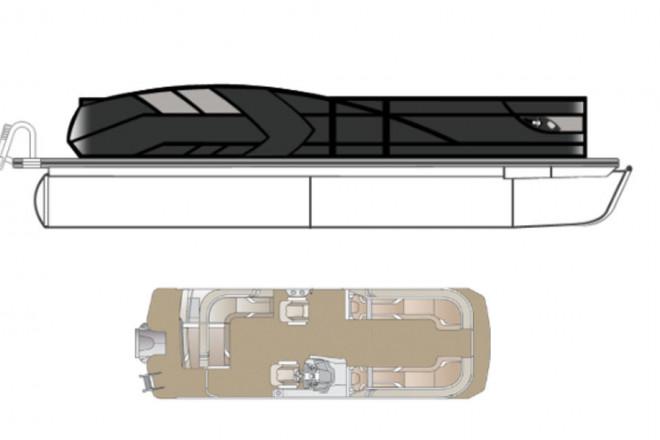 2022 Crest CARIBBEAN LX 250 SLC